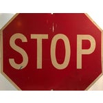 Image of Industrial Stop Road Sign