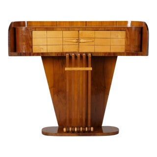 Italian Art Deco Console With Two Doors