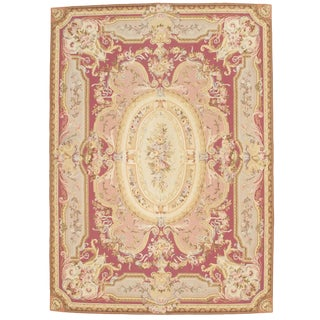 "Pasargad NY French Abusson Weave Flat Weave Rug -- 8'10"" X 12'"