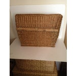 Image of French Laundry Basket With Handles