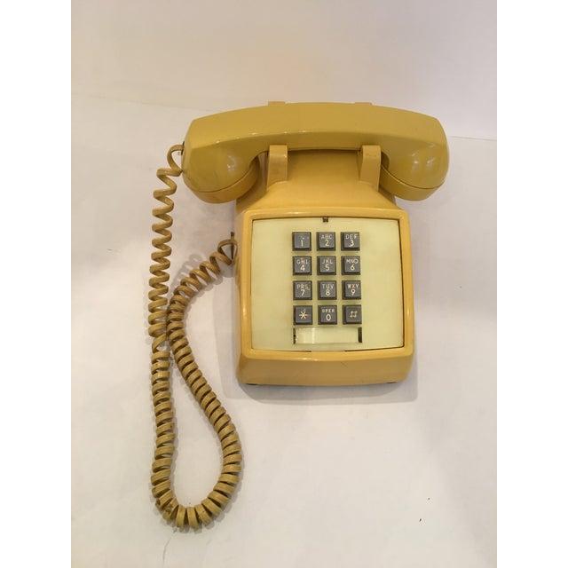 Image of Vintage Bell Western Yellow Desktop Telphone
