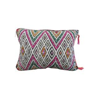 Moroccan Berber White Kilim Pillow