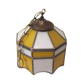Tiffany Style Stained Glass Hanging Lamp Chandelier