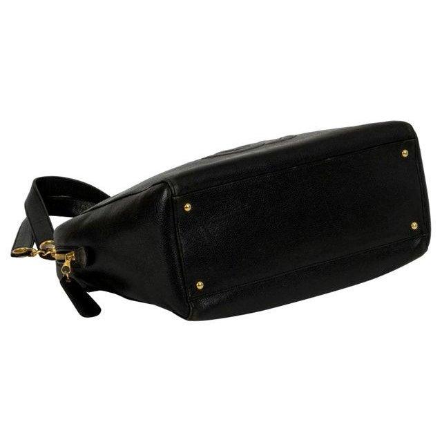 Image of Chanel Black Caviar Oversized Bag