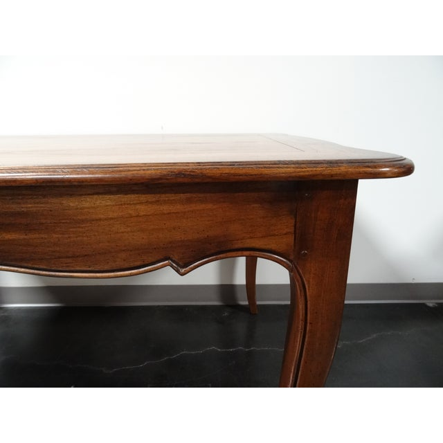 Hekman French Country Oak Writing Desk - Image 8 of 11