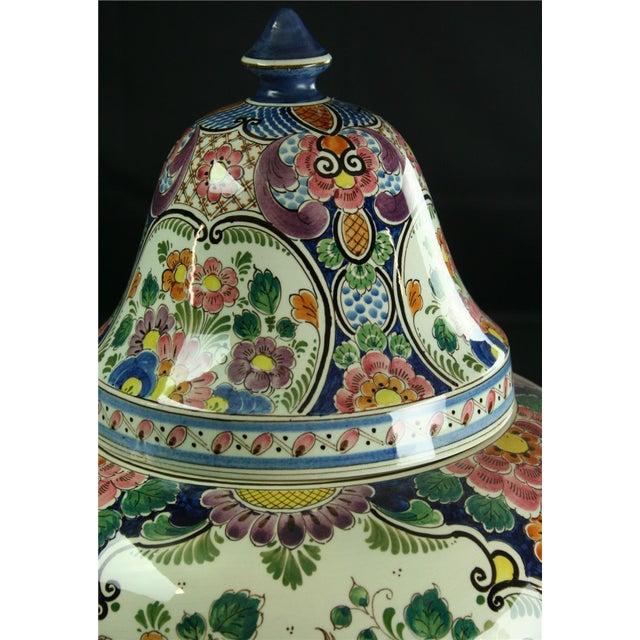 Large 1940s Vintage Majolica Ginger Jar - Image 6 of 8