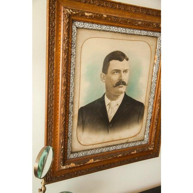 Image of Antique Portrait of Pensive Man
