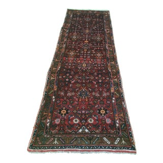 "Old Vintage Persian Bactiari Gorgeous Runner 3'3""x"