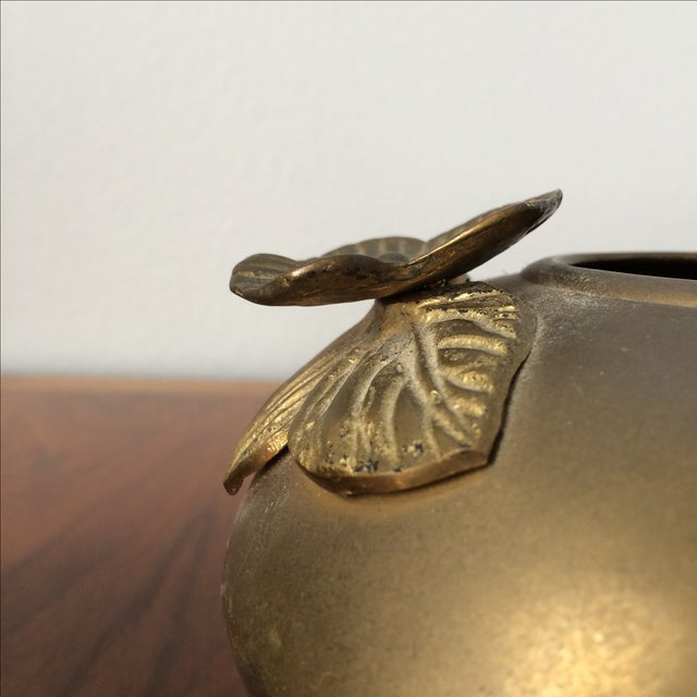 Image of Vintage Brass Vases - A Pair