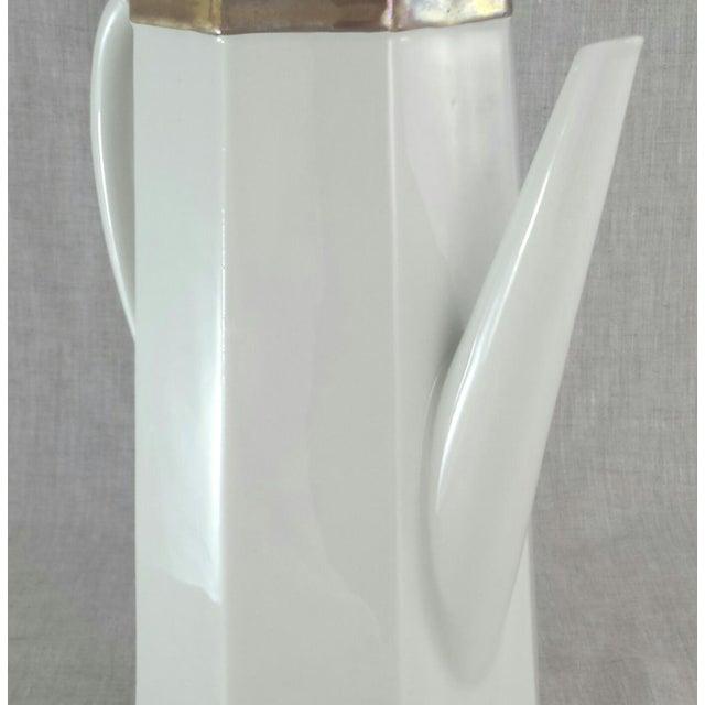 Geometric Octagonal Coffee Pot - Image 6 of 9