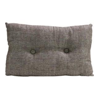 Brown Diamond Handloom Pillow
