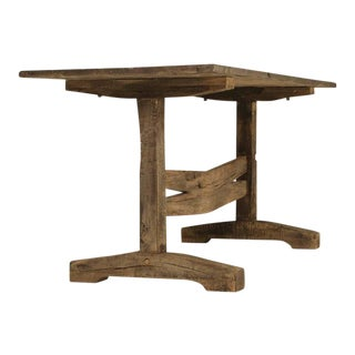 Circa 1800s Antique French Trestle Dining