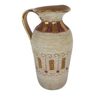 Italian Mid Century Modern Pottery Vase