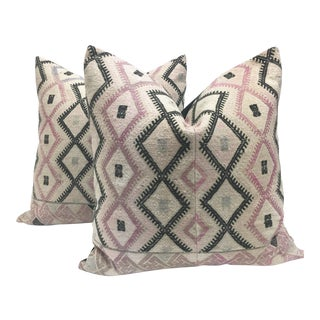Large Chinese Wedding Blanket Pillows - a Pair