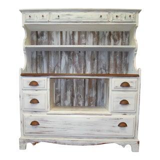 Modern Farmhouse Hutch Cabinet