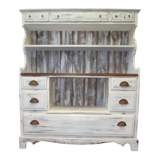 Modern Farmhouse Hutch Cabinet