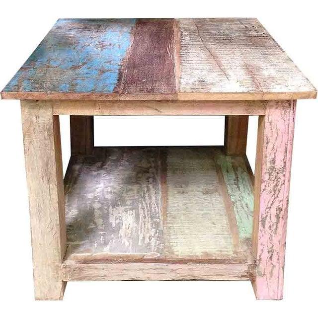 Image of Reclaimed Earthtone Coffee Table