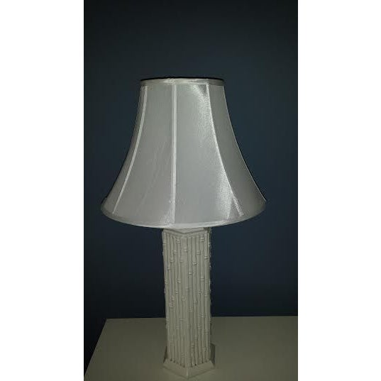 Blanc de Chine Faux Bamboo Lamp - Image 6 of 6