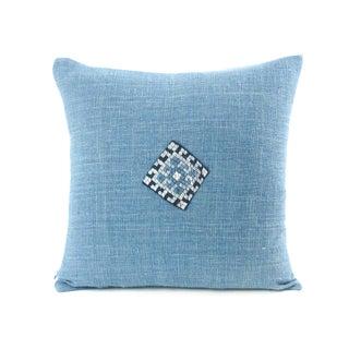 Indigo Diamond Pillow