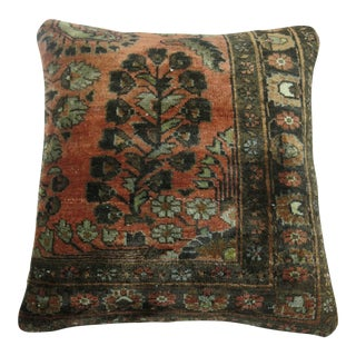 Persian Sarouk Rug Pillow