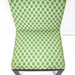 Image of Green Accent Chairs - A Pair
