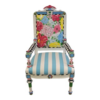 Lilly Pulitzer Harlequin Chair