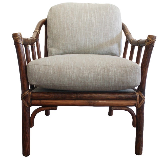McGuire A-1 Lounge Chair - Image 1 of 9