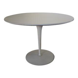 Vintage Saarinen Style White Tulip Dining Table