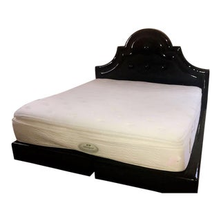 Patent Leather Bedframe