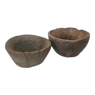 19th Century Wooden Bowls