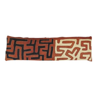 African Raffia Large Lumbar Pillow