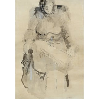 Gertrude Stein Portrait Drawing