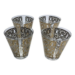 Georges Briard Filigree Glasses - Set of 4