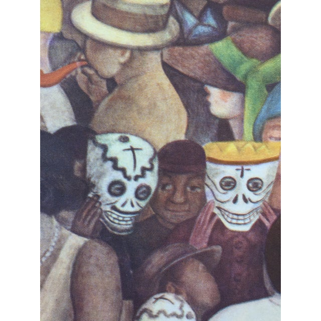 Rare 1946 Diego Rivera Lithograph - Image 4 of 7