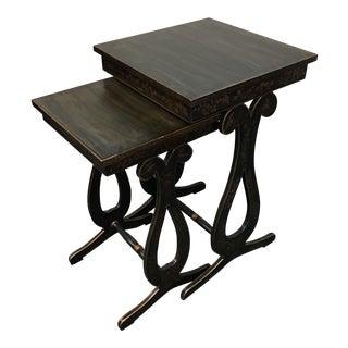 Chinoiserie Ardley Hall Nesting Tables - A Pair