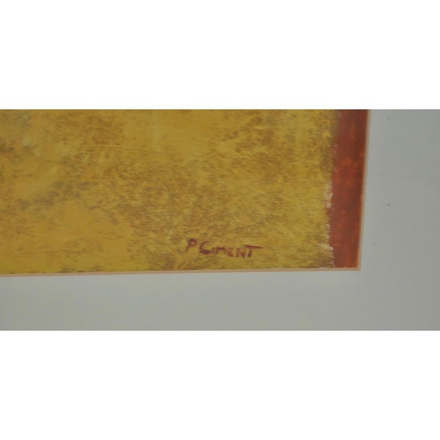 Classic 1970s Abstract Painting by Phyllis Cimenti - Image 4 of 7