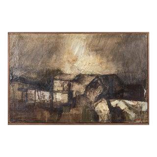 Giorgio Scalco Mid-Century Oil Painting