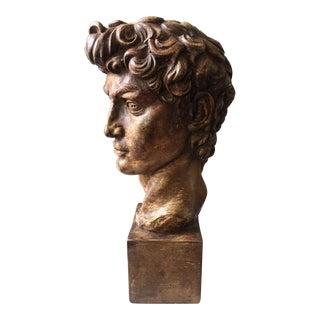 Large Vintage Bust of David