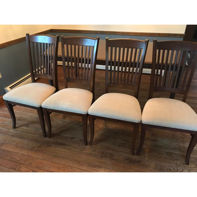 Richardson Brothers Solid Wood Dining Set - Image 7 of 11