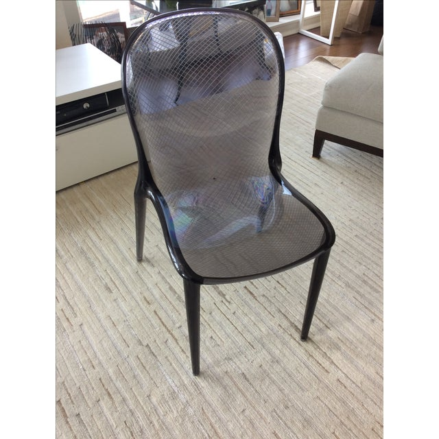 Grey Kartell Thalya Dining Chairs - Set of 5 - Image 3 of 8