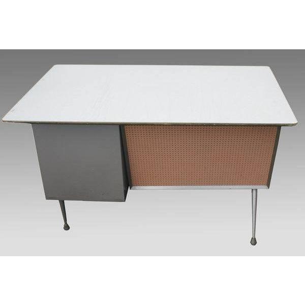 Raymond Loewy Brunswick 4 Drawer Office Desk - Image 8 of 8