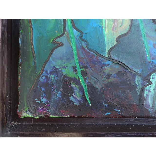 Contemporary Abstract Oil Painting by Cuban-American Artist Juan A. Navarrete - Image 2 of 9