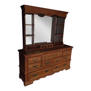 Vintage Broyhill Dresser With Mirror