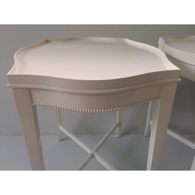 Vintage Hollywood Regency Side Tables - A Pair - Image 6 of 10
