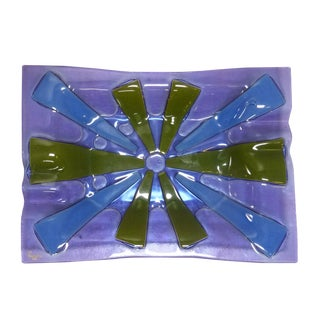 Purple Candy Dish by Higgins