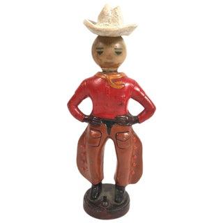 Vintage Cowboy Lamp