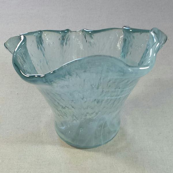 Spanish Hand Blown Glass Vase Chairish