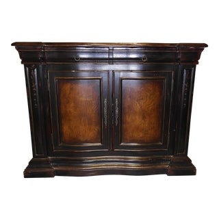 Hooker Hand-Painted Credenza