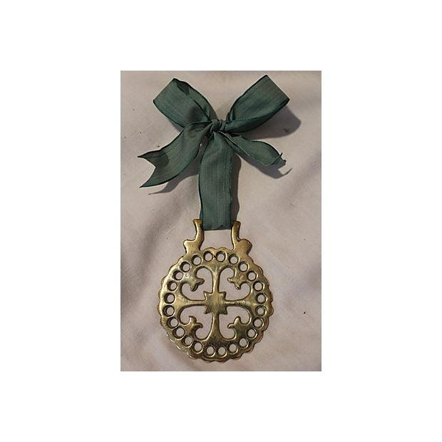 Antique Victorian Brass Horse Ornament - Image 3 of 4