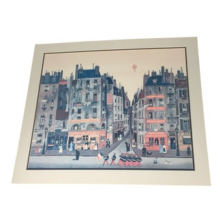 """French """"Parade"""" Fine Stone Lithograph"""